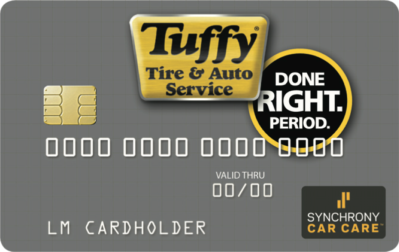 Tuffy Credit Card